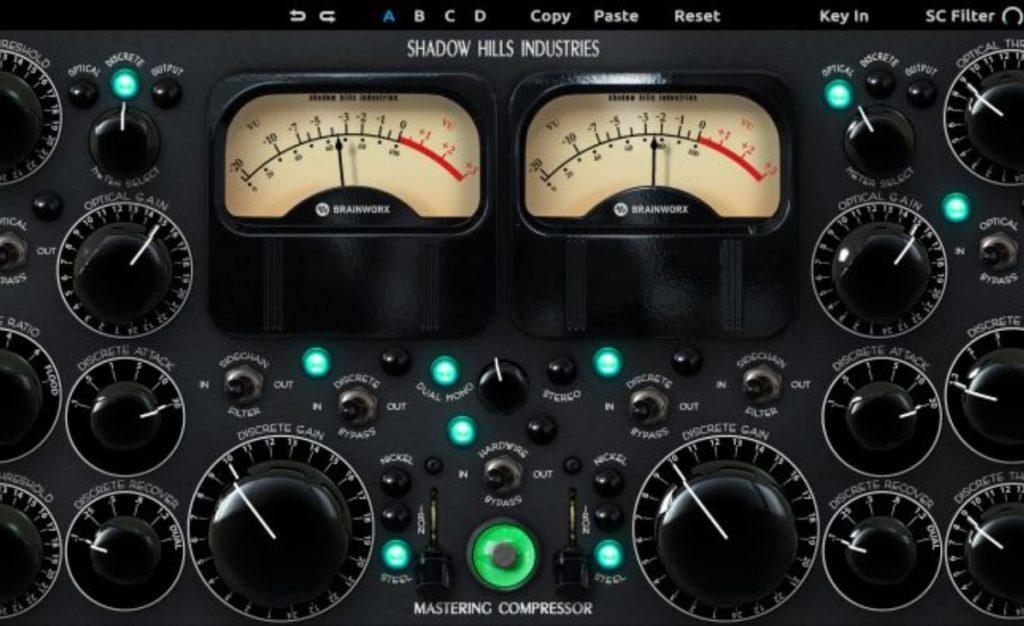 Plugin for Shadow Hills Mastering Compressor
