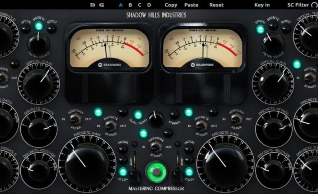 Shadow Hills Mastering Compressor